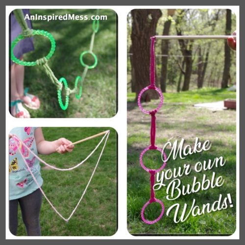 Make Your Own Bubble Wands